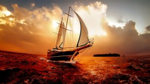 8834_Boat-on-the-ocean-in-the-sunset-wonderful-colors